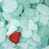 Sea glass background — Stockfoto