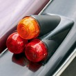 Car tail-lights — Stock Photo