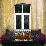 European balcony — Stock Photo