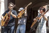Street music — Stock Photo
