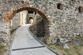 Part of medieval castle — Stock Photo