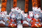 Estatuas religiosas fox — Foto de Stock