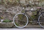 Decorative vintage bicycle — Stock Photo
