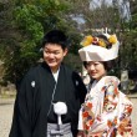 Married japanese couple — Stock Photo #40854813