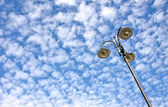 Street lamp against sky — Foto Stock