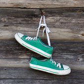Old sneakers — Stock Photo