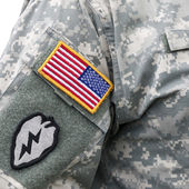 US army uniform — Stockfoto