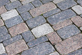 Stone pavement background — Stock Photo