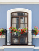 Classic balcony — Stock Photo
