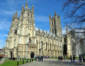 England - Canterbury Cathedral in Springtime — Stock Photo