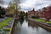 Canterbury, United Kingdom - River & Gardens — Stock Photo