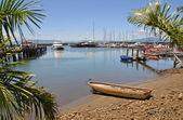 Denerau 海港 & 码头,斐济. — 图库照片