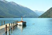 Lake Rotoiti, Nelson Lakes District, New Zealand — Stock Photo