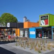 Container Shopping AreOpened in Christchurch, New Zealand. — Stock Photo #14488085