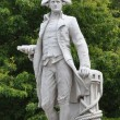 Christchurch, New Zealand - Statue of Captain James Cook - Stock Photo