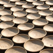 Clay Bowls Drying in The Sun, Vietnam — Stock Photo #14799415