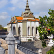 Domed Temple at Grand Palace, Bangkok Thailand — Stock Photo #16805307