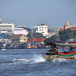Long Tail boat of the Chao Phraya River, Bangkok Thailand — Stock Photo