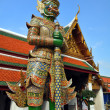 Giant Mosaic Figure Guards Temples at Grand Palace. — Stock Photo #16806107