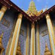 Golden Mosaic Temple Dome & Spire at the Grand Palace - Stock Photo