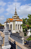 Domed Temple at the Grand Palace, Bangkok Thailand — Stock Photo