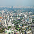 Aerial Landscape View Over Bangkok City, Thailand. — Stock Photo