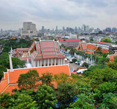 Le quartier du temple de bangkok, thaïlande — Photo