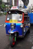 Tuk Tuk Taxi Transport in Bangkok, Thailand. — Stock Photo