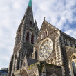 Stock Photo: Christchurch Anglican Cathedral, New Zealand
