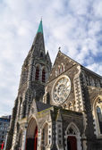 Christchurch Anglican Cathedral, New Zealand — Stock Photo