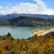 Marahau Lagoon Panorama, Abel Tasman National Park, New Zealand — Stock Photo
