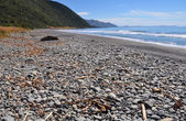 Kaikoura Stoney Beach, New Zealand — Stock Photo