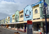 New Regent Street Renovation in Christchurch, New Zealand — Stock Photo