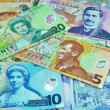 New Zealand Dollar Notes Currency - Stock Photo