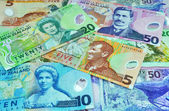 New Zealand Dollar Notes Currency — Stock Photo