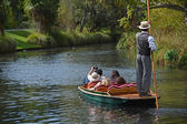 Cruising Down The River On A Sunday Afternoon — Foto Stock