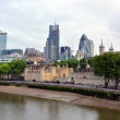 Landmark London Buildings Including the Tower of London & The Gh — Stock Photo