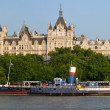 Historic Buildings on Victoria Embankment, London. — Stock Photo
