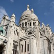 Sacre Coeur Church, Monmatre Paris France — Stock Photo