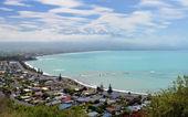 The Town of Kaikoura, South Island New Zealand. — Stock Photo