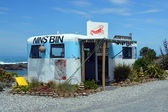Nins Bin Crayfish & Lobster Shop, Kaikoura — Stock Photo