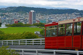 Kelburn Cable Car, Wellington New Zealand. — Stock Photo