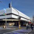 Stock Photo: Christchurch Earthquake Rebuild - Ballantynes Store First To Ope