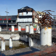 Stock Photo: Christchurch Earthquake Rebuild - Demolition Sculpture on High S