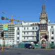 Stock Photo: Christchurch Earthquake Rebuild - Diamond Jubilee Clock Tower.
