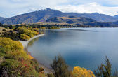 Glendhu Bay in Autumn, Otago New Zealand — Stock Photo