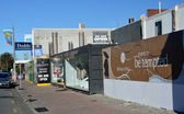 Christchurch Earthquake Rebuild - Merivale Shops. — Stock Photo