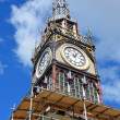 Repairs Start on Iconic Diamond Jubilee Clock Tower in Chrsitchu — Stock Photo #39128961