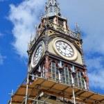Repairs Start on Iconic Diamond Jubilee Clock Tower in Chrsitchu — Stock Photo