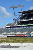 Christchurch Rebuild - Lancaster Park Awaits Demolition. — Stock Photo